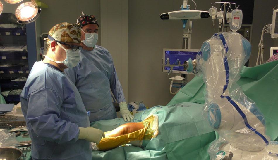 Ρομποτική αρθροπλαστική γόνατος (ROSA)