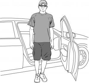 Είσοδος έξοδος σε αυτοκίνητο μετά αρθροπλαστικής