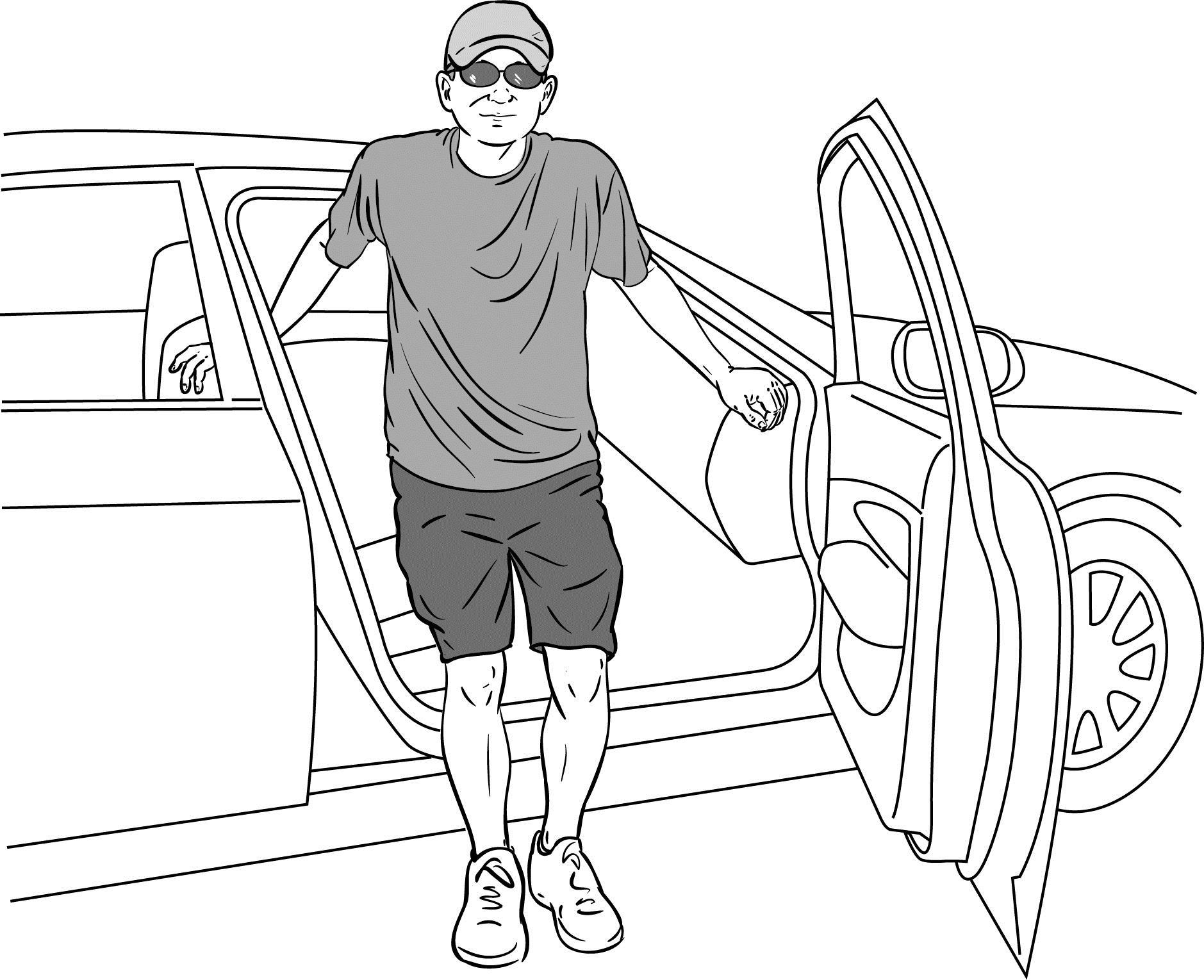 Είσοδος έξοδος σε αυτοκίνητο μετά αρθροπλαστική